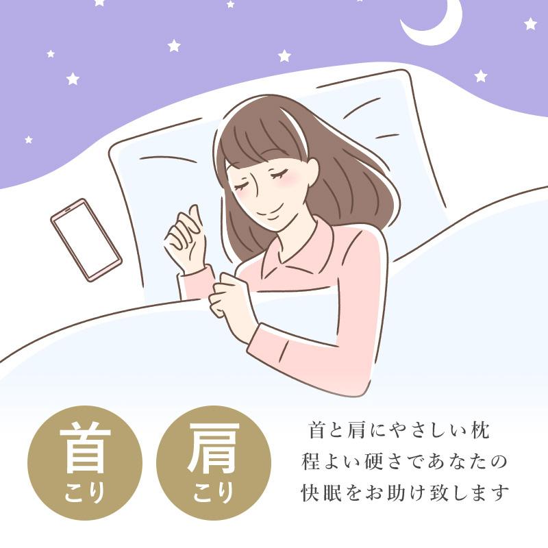 首こり肩こり。首と肩に優しい枕。程よい硬さであなたの快眠をお助け致します。沈みすぎず硬すぎず程よい硬さで 支える。しっかり支える調整枕