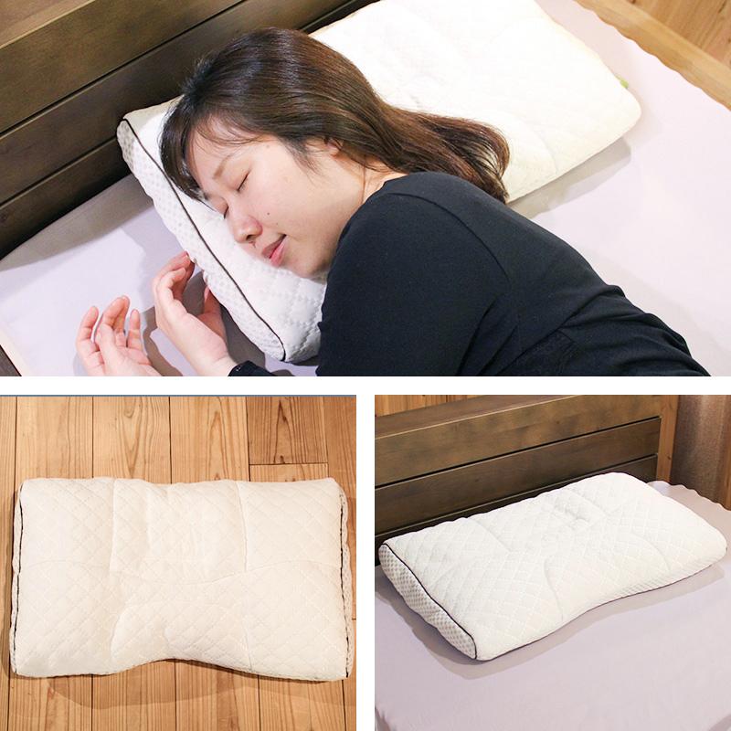 首肩快適枕シリーズ-寝返り美人枕