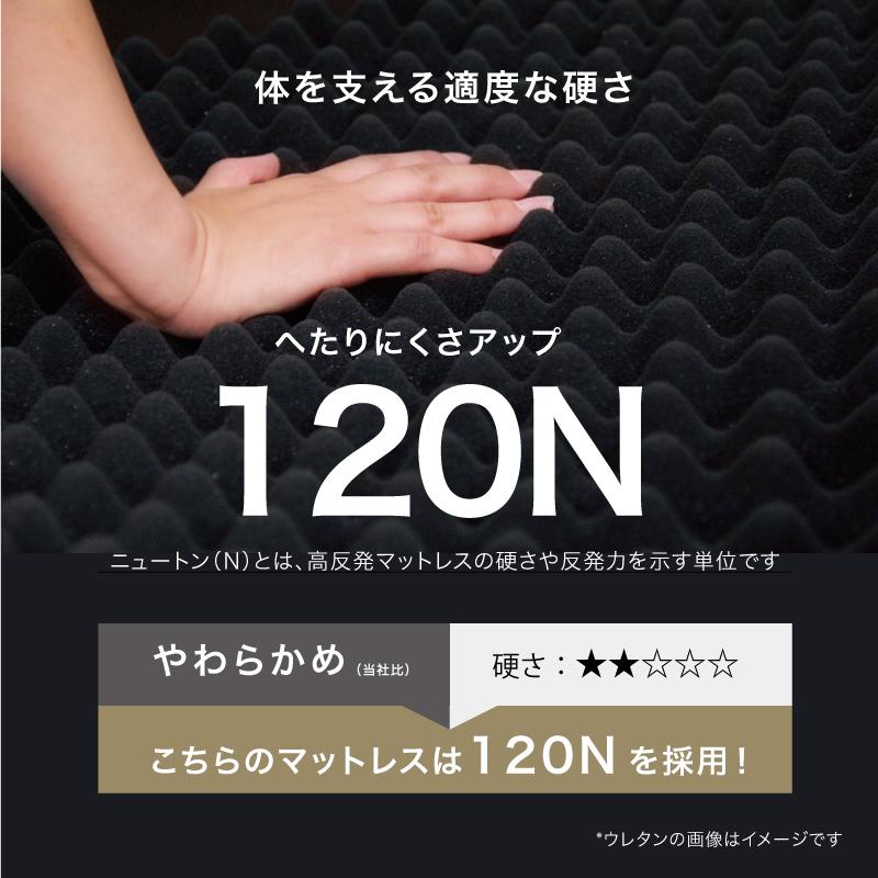 マイまくらマットN5-体を支える適度な硬さ120N