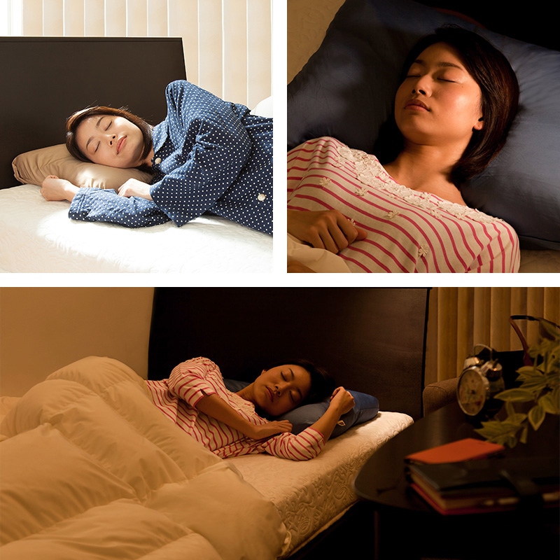 眠りの常識を変えるオーダーメイドマイ枕愛用者数多数のベストセラー枕