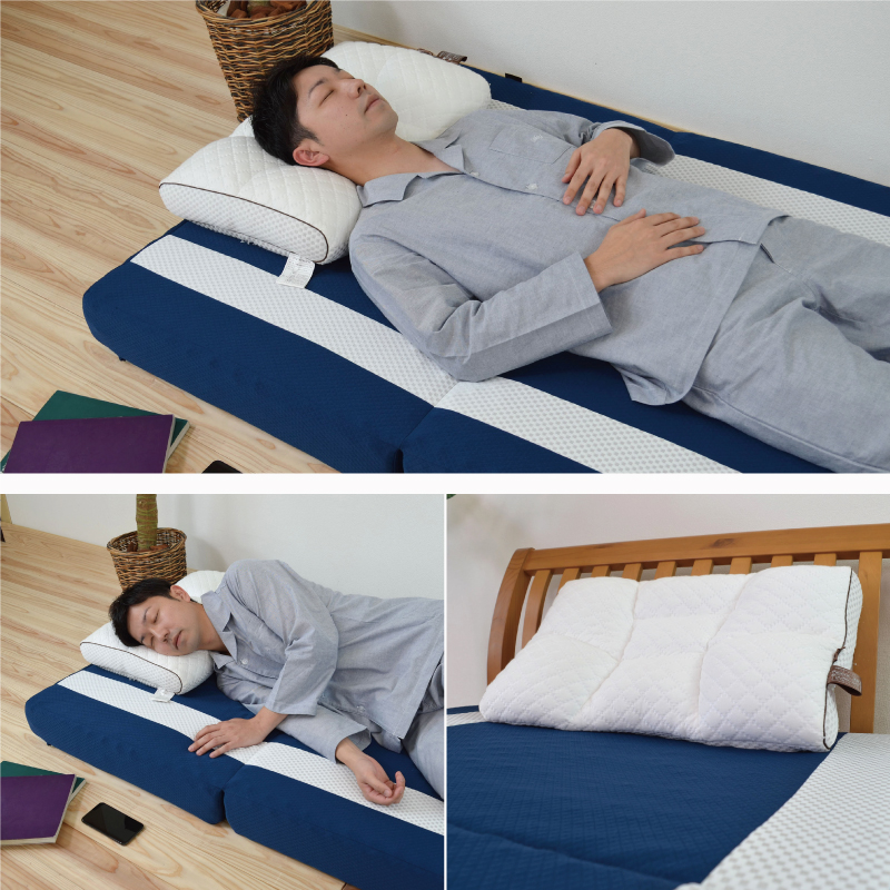 首肩快適枕プレミアム+マイまくらマットセット